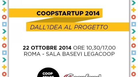 """Il programma di """"COOPSTARTUP 2014 – Dall'idea al progetto"""""""