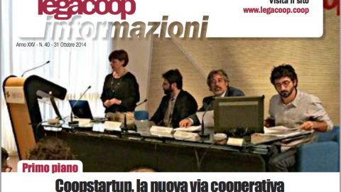 "Speciale ""Coopstartup"" su Legacoop Informazioni"