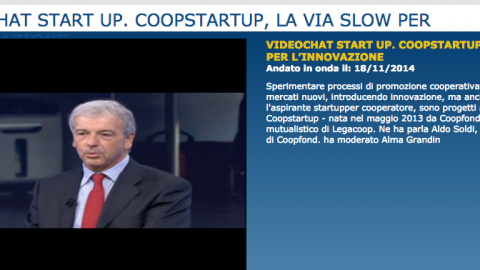 Coopstartup sul TG1