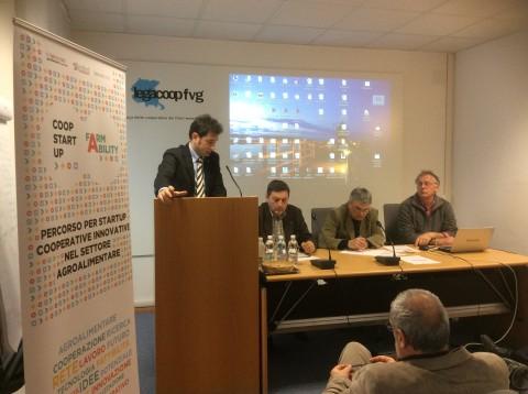 Udine. Presentazione del bando Coopstartup Farmability