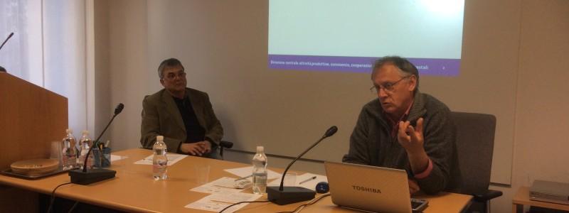 Romeo Cuzzit referente regionale per l'innovazione in agricoltura -servizio competitività del sistema agro-alimentare della Regione FVG