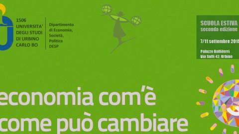 Una summer school sui temi dell'economia e delle politiche economiche e sociali