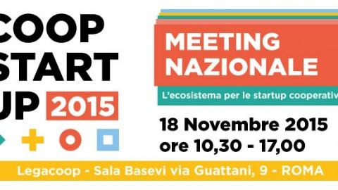 Meeting Nazionale Coopstartup – I relatori