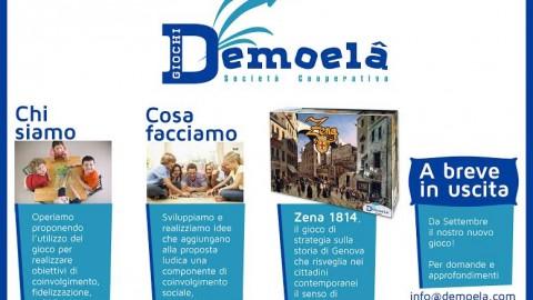 Demoela: la startup cooperativa si mette in gioco