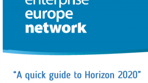 Guida rapida ad Horizon 2020 in 4 webinar, 8-29 novembre