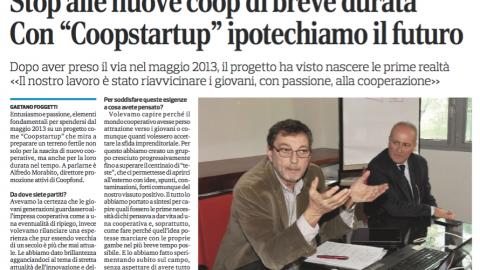 """Con """"Coopstartup"""" ipotechiamo il futuro – Intervista ad Alfredo Morabito – Coopfond"""