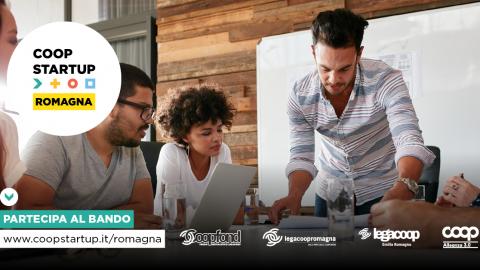 Online il bando Coopstartup Romagna