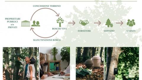 Parte ufficialmente il crowdfunding di Boschi Vivi startup cooperativa