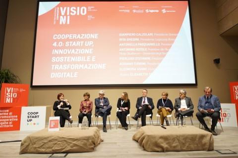 """Visioni – Report tavola rotonda """"Cooperazione 4.0: startup, innovazione sostenibile e trasformazione digitale"""
