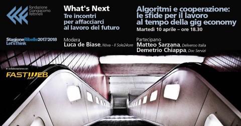 Algoritmi e cooperazione: le sfide per il lavoro al tempo della gig economy